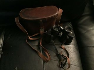 Carl Zeiss Vintage Binoculars Jena Deltrintem 8x30 With Matching Case