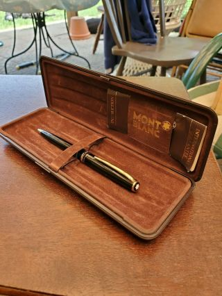 Vintage Mont Blanc Generation Ballpoint Pen - Chicago Store Verified Authentic
