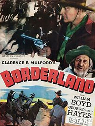 Vintage Movie 16mm Borderland Feature 1937 Film Drama Western Adventure