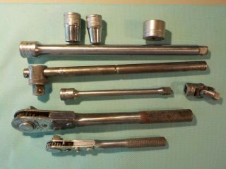 Vintage Craftsman Rare C - Series Ratchets And Parts From The 1930
