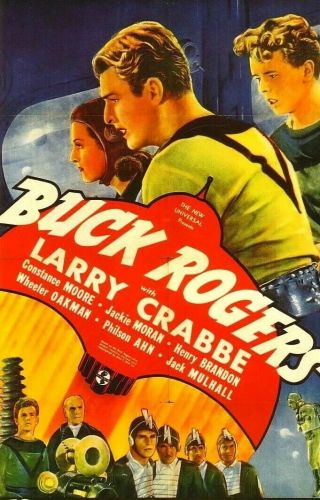 Vintage Movie 16mm Buck Rogers Feature 1939 Film Adventure Drama Sci - Fi