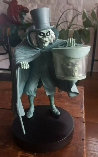 Haunted Mansion Hatbox Ghost Disneyland Exclusive 40th Anniversary Statue Rare