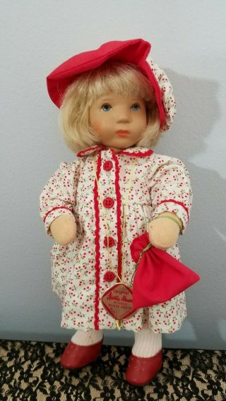 Kathe Kruse Cloth Doll Monica 10 In Limited Edition