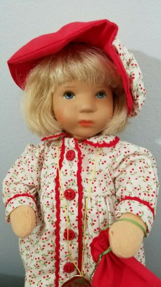 Kathe Kruse Cloth Doll Monica 10 In Limited Edition 2