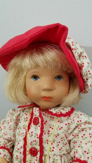 Kathe Kruse Cloth Doll Monica 10 In Limited Edition 4