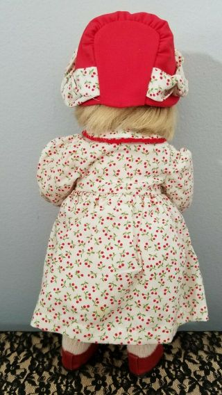 Kathe Kruse Cloth Doll Monica 10 In Limited Edition 5