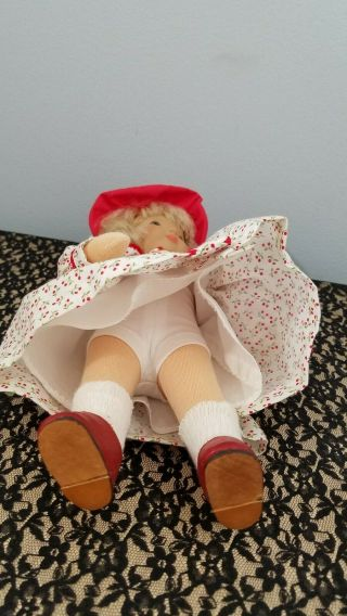 Kathe Kruse Cloth Doll Monica 10 In Limited Edition 6