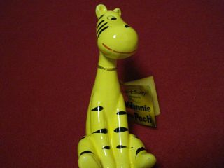 Rare Vintage Disney Yellow Tigger - Enesco Japan Winnie The Pooh Figure Tag 1964