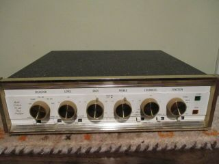 Sherwood S - 5500 S5500 5500 Integrated Tube Amplifier Vintage Exc.  7591