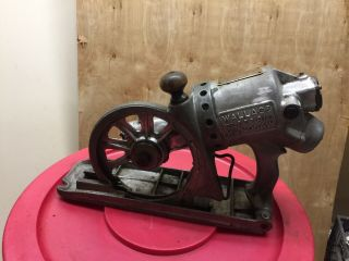 Jd Wallace & Co.  No.  5 Electric Handsaw Worm Drive Operational 1929 Rare