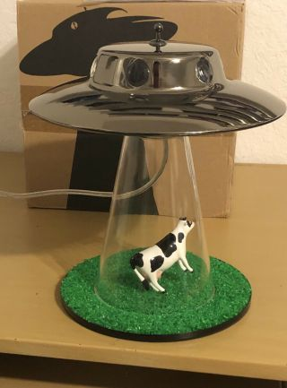 Alien Abduction Lamp By Lasse Klein Rare & Discontinued