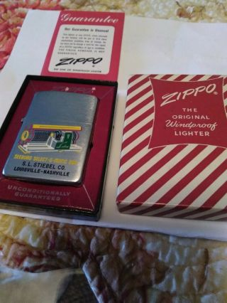 Vintage Zippo Lighter Select - O - Matic 200,  S.  L.  Stiebel Co.  Louisville - Nashville