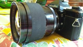 Soligor 135mm F/2.  0 - - That Vintage Classic In Minolta Md Mount