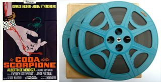 Vintage 16mm Film: The Case Of The Scorpion