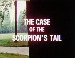 Vintage 16mm Film: The Case of the Scorpion ' s Tail (1971) George Hilton,  Rare 2