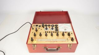 Hickok Model 800a Vacuum Tube Tester - Dynamic Mutual Conductance - Vintage