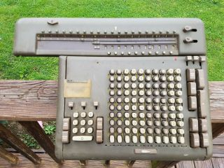 Friden Stw Calculating Calculator Machine Automatic Mechanical Register Tool Vtg