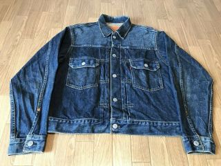 Levis 507xx Type - 2 Denim Jacket Big - E Look Model Size 38 1993