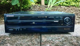 Pioneer Elite Cld 59 Laser Disc Player With Remote Rare