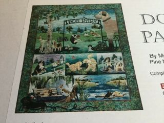 Dog Park Mckenna Ryan Rare Complete Quilt Kit.  All Retired Fabrics