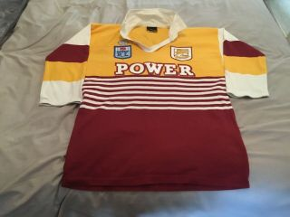 Brisbane Broncos Vintage Rugby League Shirt.  Rare.