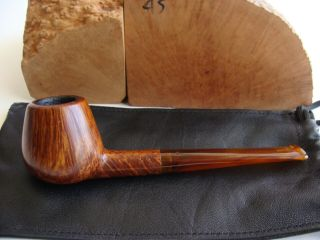 Rainer Barbi Handarbeit Straight Grain Brandy Pipe - Rare