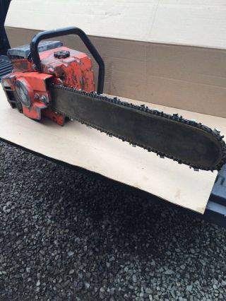 Vintage Homelite 2000 Chainsaw