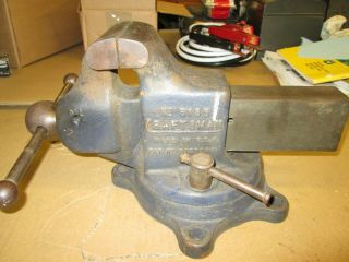 Vintage Craftsman 5185 Vise Made By Reed 3 1/2 Inch Jaws