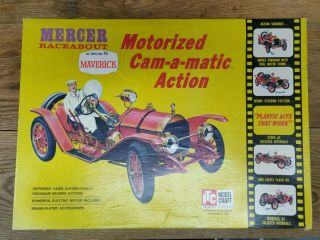 Itc Model Craft Mercer Raceabout 1:8 Scale Model 3637.  6 - 895