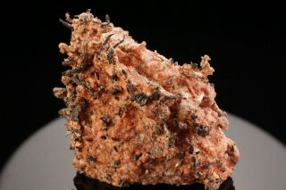 Rare Old Native Silver Crystal With Baryte Mollie Gibson Mine,  Colorado