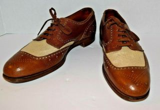 Polo Ralph Lauren Dress Shoes Made In England M1120 Vintage