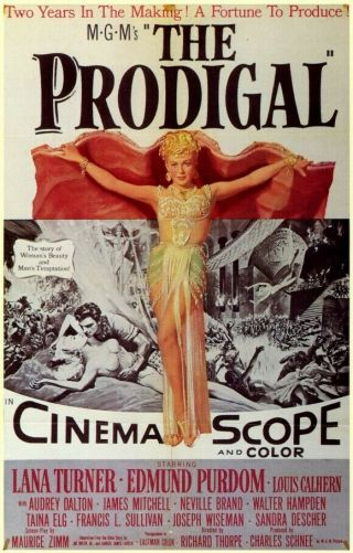 Vintage Movie 16mm Prodigal Feature 1955 Film Adventure Drama