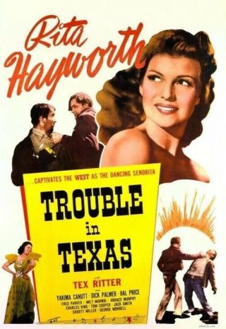 Vintage Movie 16mm Trouble In Texas Feature 1937 Film Adventure Drama