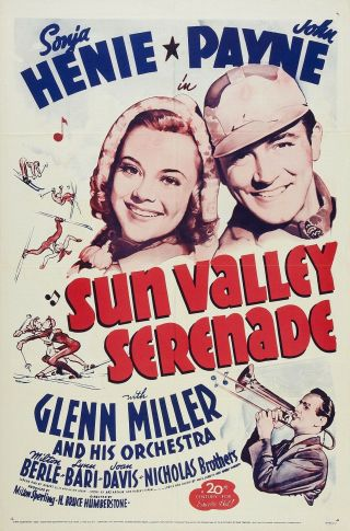 Movie 16mm Sun Valley Serenade Feature Vintage 1941 Film Adventure Comedy