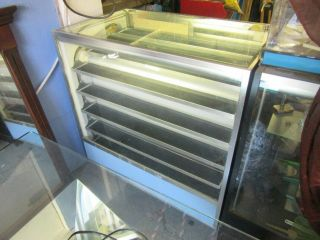 Vintage Berg Motion Display Case With Lock And Key