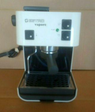 Vintage Estro Vapore Espresso Machine Made In Italy Starbucks