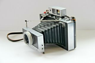 Vintage Polaroid Land Camera Model 180 Tomioka Tominon 114mm Lens 1:4.  5 Great