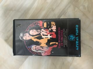 Possession Of Virginia Vhs Rare Oop Horror