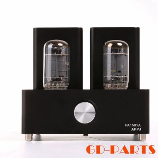 Appj Pa1501a Mini 6ad10 Vacuum Tube Amplifier Vintage Integrated Power Amp Black