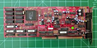 Vintage Advanced Gravis Ultrasound Classic 2.  4 Isa Sound Card As - Is For Repair