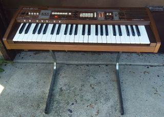 Vintage Casio Casiotone 405 Keyboard With Stand