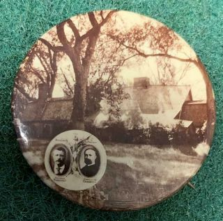Rare & 1904 Roosevelt & Fairbanks Presidential Campaign Button Nr