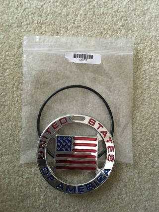 Scotty Cameron 2012 Usa Flag Bag Tag Rare