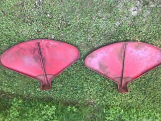 Vintage Farmall H Tractor Set Pair Fenders