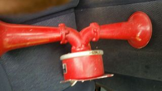 Vintage Rare Simplex Fire Alarm Remote Horn With Double Projector