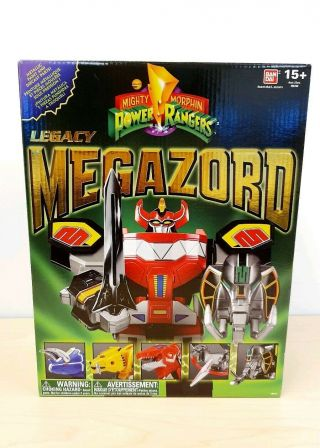 Mighty Morphin Power Rangers Legacy Megazord Complete Rare Mmpr