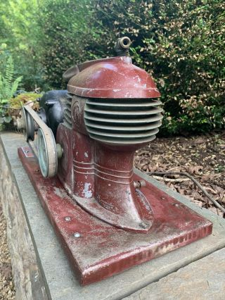 Fabulous 1940s Vintage Art Deco Air Compressor,  Electric Sprayit Co 356,