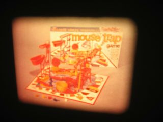 Vintage 16mm Ideal Toy Film Commercial - Mouse Trap R