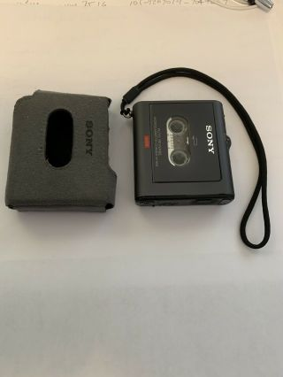 Sony M - 909 Vintage Micro Cassette Voice Recorder,  W/o External Microphone