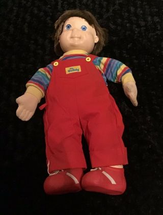 Vintage 1985 Hasbro Chucky My Buddy Doll Brown Hair Blue Eyes Vtg Rare
